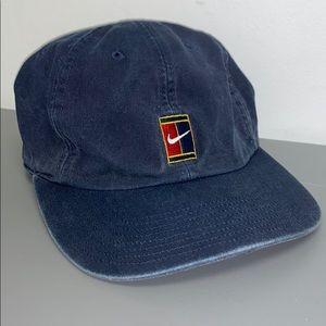 Vintage Nike Tennis Denim 90s Hat